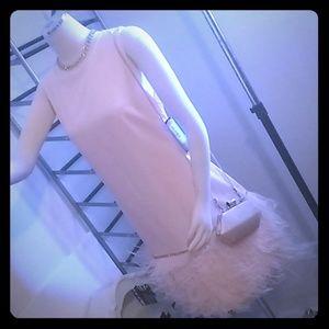 Peach Brand New dress (Tahari-14)